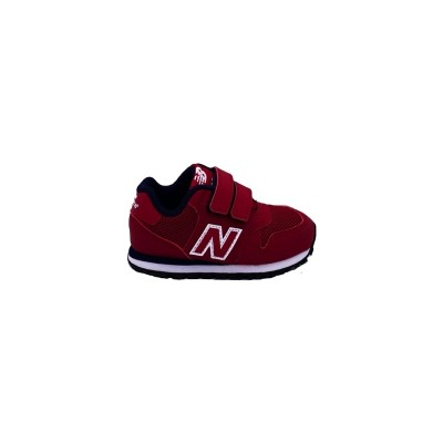 NEW BALANCE 500 SNEAKERS ROSSO BIANCO BLU IV500RR