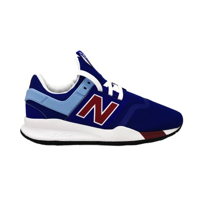 NEW BALANCE SNEAKERS 247 BLU BIANCO ROSSO MS247FM