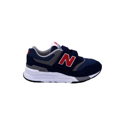 NEW BALANCE 997 SNEAKERS BLU BIANCO ROSSO PZ997HAY