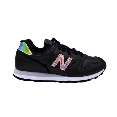 NEW BALANCE 373 SNEAKERS NERO BIANCO GLITTER WL373GB2