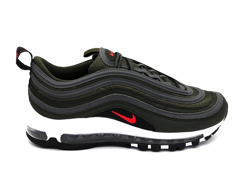 air max 97 rosse nere argento