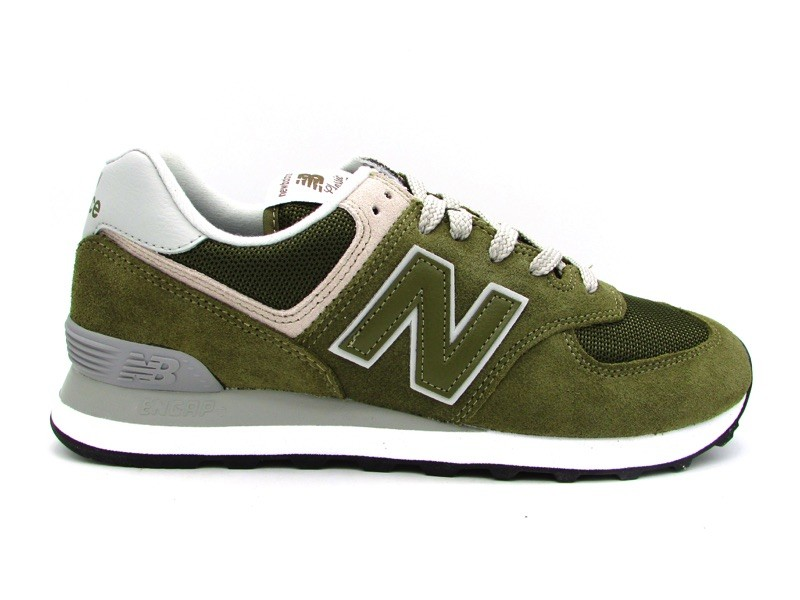 super popular b196e 99099 NEW BALANCE SNEAKERS 574 VERDE MILITARE ML574EGO - UOMO