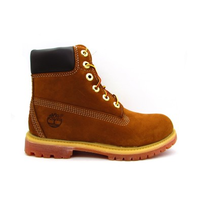 TIMBERLAND AF 6IN PREM RUST NB SNEAKERS MARRONE 10360
