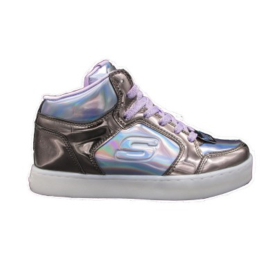 SKECHERS SHINY BRIGHTS SNEAKERS ARGENTO BANCO  10943-GUPR