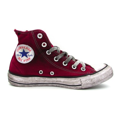 CONVERSE SNEAKERS CTAS CANVAS LTD HI BORDEAUX VINTAGE 160152C