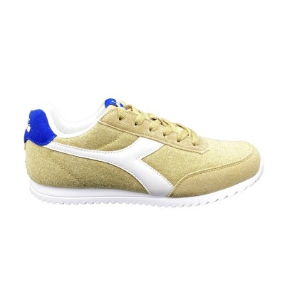 DIADORA JOG LIGHT C SNEAKERS BEIGE BIANCO BLUE 171578-25065