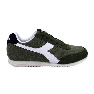 DIADORA JOG LIGHT C SNEAKERS VERDE BIANCO NERO 171578-C6307