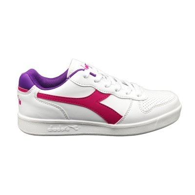 DIADORA PLAYGROUND GS SNEAKERS BIANCO VIOLA 173301-55003