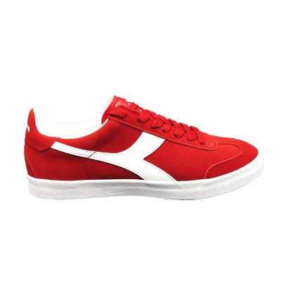 DIADORA PITCH SNEAKERS ROSSO BIANCO 173991-45005