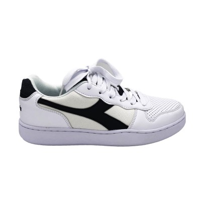 DIADORA SNEAKERS PLAYGROUND DEN BIANCO BLU DENIM 174371-C4656