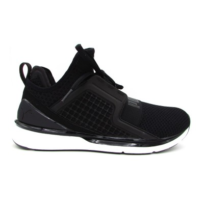 PUMA IGNITE LIMITLESS WEAVE SNEAKERS NERO BIANCO 190503-02
