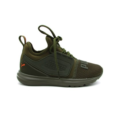 PUMA SNEAKERS LIMITLESS 2 UNREST AC PS VERDE ARANCIO 191327-01