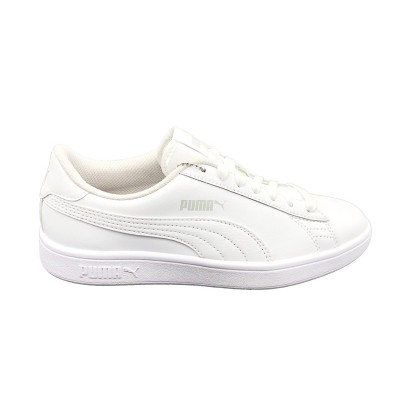PUMA SNEAKERS SMASH V2 L JR BIANCO 365170-02