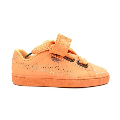 PUMA SNEAKERS BASKET HEART ATH LUX WN'S CORALLO 366728-02