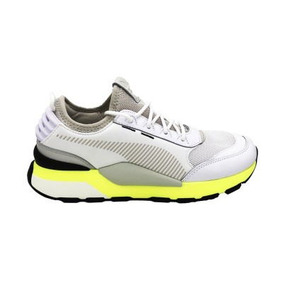 PUMA SNEAKERS RS-0 TRACKS  WHITE-FIZZY YELLOW 369362-03