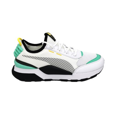 PUMA RS-0 TRACKS SNEAKERS BIANCO NERO VERDE 369362-07