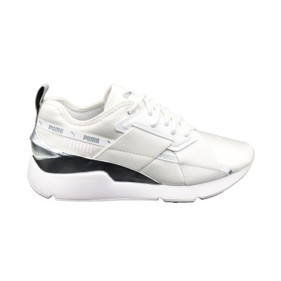 PUMA MUSE X-2 METALLIX WN'S SNEAKERS BIANCO ARGENTO 370838-02