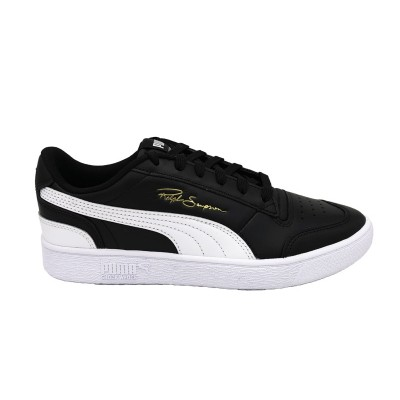 PUMA SNEAKERS RALPH SAMPSON LO NERO BIANCO 370846-01