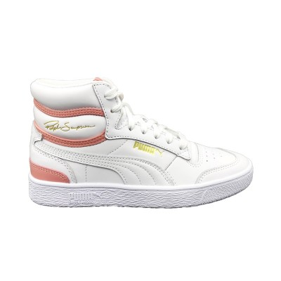 PUMA RALPH SAMPSON MID SNEAKERS BIANCO ROSA 370847-07