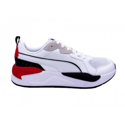 PUMA X-RAY GAME SNEAKERS BIANCO NERO ROSSO 372849-01