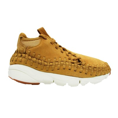 NIKE SNEAKERS AIR FOOTSCAPE WOVEN CHUKKA CAMMELLO 443686-205