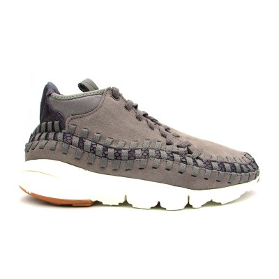 NIKE SNEAKERS AIR FOOTSCAPE WOVEN CHUKKA TRM GRIGIO 446337-003