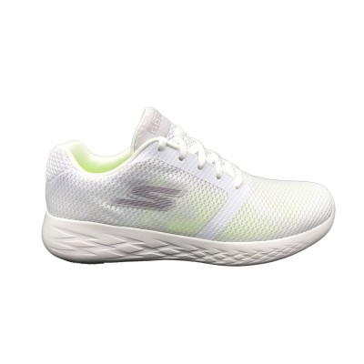 SKECHERS GO RUN SNEAKERS BIANCO 55061-WHT