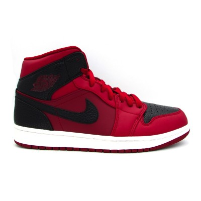 JORDAN AIR 1 MID SNEAKERS VINACCIO NERO 554724-601