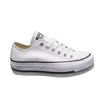 CONVERSE CTAS LIFT CLEAN OX SNEAKERS BIANCO 561680C