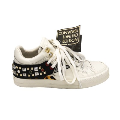 CONVERSE SNEAKERS CTAS LEATHER TRIBECA LTD OX BIANCO 562920C
