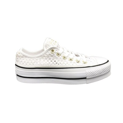 CONVERSE SNEAKERS CTAS LIFT OX BIANCO 564873C