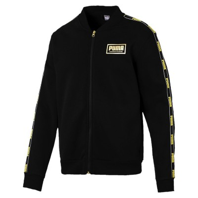 PUMA HOLIDAY PACK BOMBER JACKET GIACCA NERO ORO 581767-01