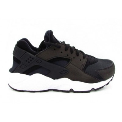 NIKE SNEAKERS WMNS AIR HUARACHE RUN NERO BIANCO 634835-006