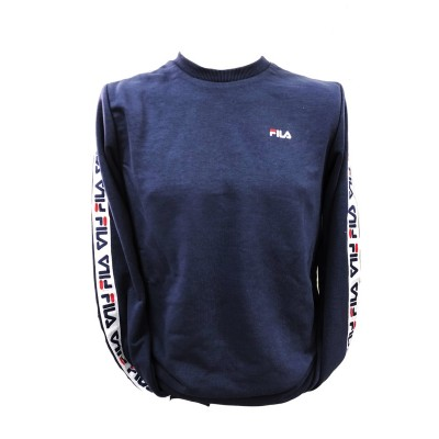 FILA MEN AREN CREW FELPA GIROCOLLO BLU 682363.170