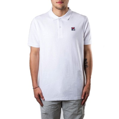 FILA MEN EDGAR POLO SS BIANCO 682394-M67
