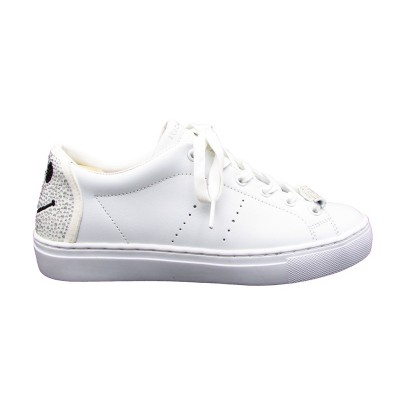 SKECHERS B HAPPY SNEAKERS BIANCO PAIETTES 73537-WHT