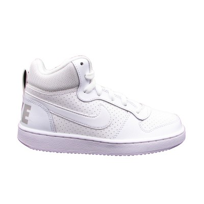 NIKE SNAKERS NIKE COURT BOROUGH MID (GS) BIANCO 839977-100