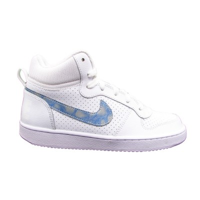 NIKE SNEAKERS COURT BOROUGH MID BIANCO-CELESTE 845107-102