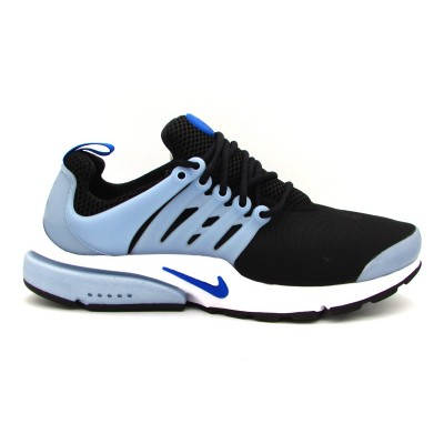 NIKE AIR PRESTO ESSENTIAL SNEAKERS NERO BIANCO CELESTE 848187-016