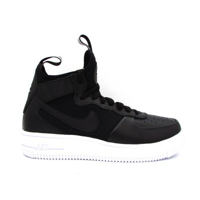 NIKE SNEAKERS W AIR FORCE 1 ULTRAFORCE MID NERO 864025-001