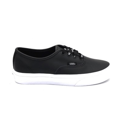 VANS SNEAKERS AUTHENTIC (OTW WEBBING ) BLACK/LEATH NERO BIANCO 8EMUKM1
