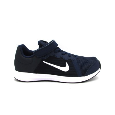NIKE DOWNSHIFTER 8 GS SNEAKERS BLU BIANCO 922854-400