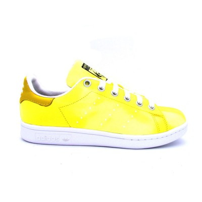 ADIDAS PW HU HOLI STAN SMITH SNEAKERS GIALLO BIANCO AC7042