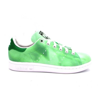 ADIDAS PW HU HOLI STAN SMITH SNEAKERS VERDE BIANCO AC7043