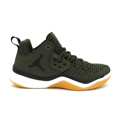 JORDAN DNA LX (GS) SNEAKERS VERDE BIANCO AO2650-301