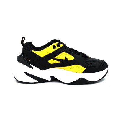 NIKE SNEAKERS W M2K TEKNO BLACK/BLACK UNIVERSITY GOLD AO3108-014
