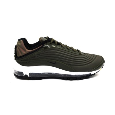 NIKE SNEAKERS AIR MAX DELUXE SE VERDE BIANCO AO8284-300