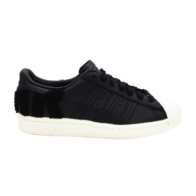 ADIDAS SUPERSTAR 80s SNEAKERS NERO BIANCO AQ0883