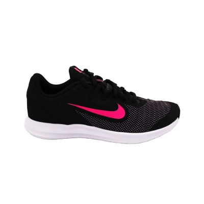 NIKE DOWNSHIFTER 9 GS SNEAKERS NERO ROSA AR4135-003