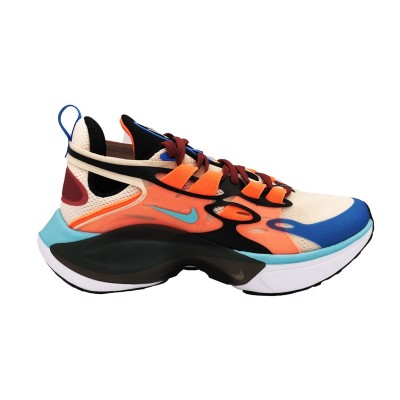 NIKE SIGNAL D/MS/X SNEAKERS  CELESTE ARANCIO NERO AT5303-800